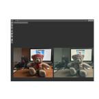 In der Mitte seht ihr das zu bearbeitende Bild. Wahlweise lasst ihr euch eine Live-Vorschau anzeigen. So könnt ihr die Wirkung der Filter genau nachvollziehen.