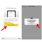 """Eine weitere Möglichkeit eure Lesezeichen zu speichern, ist das Versenden der Links per E-Mail. Dafür müsst ihr die angegebene E-Mail-Adresse speichern. Das könnt ihr manuell machen oder auf den Button """"Adresse speichern"""" klicken. Die anschließende Frage, ob Pocket auf die Kontakte zugreifen kann, bestätigt ihr mit """"Ja""""."""