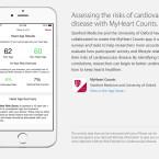 MyHeartCounts untersucht die statistische Wahrscheinlichkeit, eine Herzkrankheit zu erleiden.