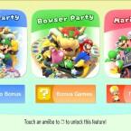 Ohne Intro oder Startbildschirm geht es in Mario Party 10 direkt in das etwas lieblose Hauptmenü.