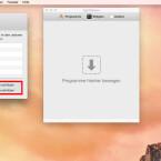"""Auf der Registerkarte """"Allgemein"""" findet ihr unten zwei wichtige Optionen. Das Häkchen vor beiden Optionen sollte aktiviert sein. Mit """"Laufende Programme schützen"""" legt ihr fest, dass keine aktuell ausgeführten Apps deinstalliert werden, da das zu Fehlern führen kann. """"Standard-Programme schützen"""" sorgt dafür, dass ihr nicht versehentlich wichtige Programme deinstalliert. Das sind die Apps, die mit OS X ausgeliefert werden - beispielsweise """"Karten"""" oder """"Mail""""."""