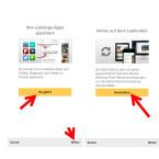 """Nun schaut ihr euch bei Bedarf an, wie ihr Seiten und Links aus euren Lieblings-Apps wie Twitter, Flipboard oder Feedly heraus speichert. Klickt ihr auf """"Weiter"""", werdet ihr gefragt, ob euch Pocket Push-Nachrichten senden darf. Wählt ihr """"Anschalten"""", müsst ihr noch bestätigen, dass ihr diese Funktion wirklich einschalten möchtet."""