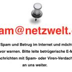 Du hast eine aktuelle E-Mail der Betrüger in deinem Postfach, die hier noch nicht gezeigt wird? Bitte hilf anderen Nutzern und leite uns diese E-Mail an spam@netzwelt.de weiter. So können wir andere Nutzer schnellstmöglich warnen.