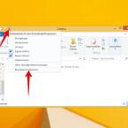 Auch über das Dropdown-Menü oben links im Datei-Explorer könnt ihr das Menüband ausblenden.