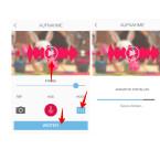 """Über das Equalizer-Icon rechts könnt ihr eure aufgenommene Stimme verzerren, indem ihr diese tiefer oder höher stellt. Dadurch ist eure Stimme praktisch nicht mehr zu erkennen. Mit einem Klick auf das Bild wird die veränderte Aufnahme abgespielt. Zum Abschluss klickt ihr unten auf den Button """"Weiter"""". Dadurch wird der Film erstellt."""