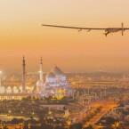 Um vier Uhr morgens deutscher Zeit am 9. März startete der Flieger mit André Boschberg an Bord in Abu Dhabi.