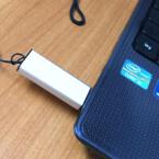 Bevor ihr mit der Installation beginnt, solltet ihr euren USB-Stick oder die Wechselfestplatte an den PC anschließen.