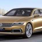 Ausblick auf den kommenden Phaeton: VW stellt in Shanghai die Studie C Coupé GTE vor.