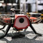 Das ist die RC EYE Navigator 250. Die Drohne ist mit der FPV-Brille Fat Shark kompatibel.