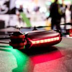 Die RC Eye Twist 300, hier auf der CES 2015, besitzt 3D-Multi-Rotoren und ist speziell für Kunstflüge ausgelegt.