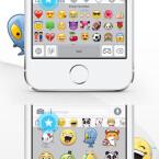 Die am häufigsten genutzten Emojis speichert ihr in den Favoriten, sodass ihr schneller darauf zugreifen könnt.