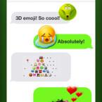 Eure Stimmung teilt ihr euren Freunden nicht mit Standard-Smileys, sondern durch ausgefallene Emojis mit.