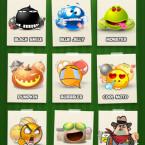 Die Auswahl an Emoticons lässt kaum Wünsche offen.