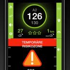 Die Verkehrs-App iCoyote warnt euch in Echtzeit vor Staus, Unfällen oder anderen Verkerhsbehinderungen wie Blitzern.