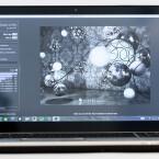 Prunkstück ist das 4K-Display mit einer Auflösung von 3.840 x 2.160 Pixeln.