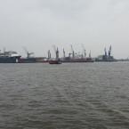 Der Hamburger Hafen, aufgenommen mit Smartphone Nummer 2