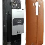 Auch der Akku des Smartphones kann gewechselt werden.