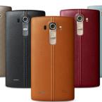 Das LG G4 wird offenbar in zahlreichen Farben erhältlich sein.