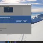 Die neue Benutzeroberfläche von Windows 10.