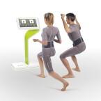 Wav-e präsentiert Funktionsunterwäsche auf der FIBO, die via Bluetooth Daten ans Controlpanel. Die Kleidung bietet zudem einen automatisch kontrahierenden Gürtel, der den Muskelaufbau fördern soll.
