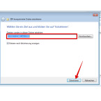 """Als Zielverzeichnis für die Dateien solltet ihr am besten einen neuen Ordner anlegen und die Dateien dorthin entpacken. Habt ihr den Ordner für WSCC ausgewählt, klickt ihr unten auf den Button """"Extrahieren""""."""