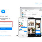 """Nach dem erstmaligen Aufruf des Messengers im Web müsst ihr euch mit euren Zugangsdaten von Facebook anmelden. Wenn ihr das Häkchen vor """"Angemeldet bleiben"""" setzt, müsst ihr euch beim nächsten Aufruf nicht erneut anmelden. Habt ihr eure Daten eingegeben, klickt ihr auf anmelden."""