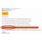 Ein ganz gemeiner Betrugsversuch verbirgt sich hinter diesem Angriff. Ihr sollt eure Adresse bestätigen. Angezeigt wird in der E-Mail ein Link, der nach der Domain zu urteilen tatsächlich zu DHL gehört. Allerdings ist das nur der angezeigte Link. Klickt ihr darauf, so werdet ihr auf eine ganz andere Webseite geleitet. Dort sollen eure Daten abgegriffen werden.