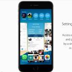 Auch die Möglichkeit die spezifischen App-Einstellungen über Bereiche wie die Multitaskings-Ansicht klingt sinnvoll.