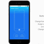 Interessant: Die manuelle Belegung des Home-Buttons und das Generieren virtueller Tasten würde die Steuerung des iPhone flexibler machen.