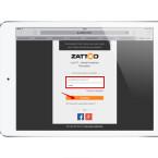 """Loggt euch jetzt mit euren Zattoo-Zugangsdaten ein. Gebt dazu E-Mail-Adresse und Passwort ein und tippt danach auf """"Anmelden""""."""