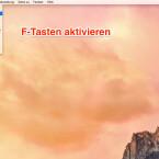 """Öffnet das Apple-Menü oben rechts und wählt im Menü den Punkt """"Systemeinstellungen…"""" aus."""