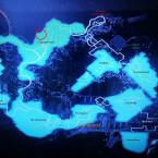 Der rote Kreis auf der Karte des Kosmodroms markiert die Stelle, an der ihr Dreviks findet.