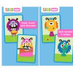 """In """"Sago Mini Monsters"""" können kleine Kinder ab zwei Jahren ihr eigenes Monster erschaffen. Die App ist sehr farbenfroh und einfach zu bedienen. 99 Cent gespart."""