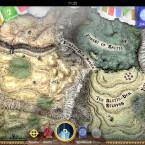 """Sorcery! 3: Das 3D-handgemalte Abenteuerspiel führt euch durch epische Kämpfe in Raum und Zeit gegen 30 neue Monster. Fünf Götter mit unterschiedlichen Kräften helfen euch dabei, die Krone der Könige zu erreichen. Mit neuer Musik vom """"80 Days""""-Komponisten Laurence Chapman wird die interaktive Geschichte durch eure Entscheidungen erzählt. 5,50 Euro gespart."""