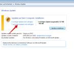 """Nach der Suche zeigt Windows Update an, ob es Aktualisierungen für euren PC gibt. Dabei wird zwischen """"wichtigen Updates"""" und """"optionalen Updates"""" unterschieden. Gefundene Treiber befinden sich in der Regel unter """"optionale Updates"""". Klickt diesen Link an."""