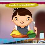 Toca Kitchen (Kindle Tablet Edition): Das Spiel für Kleinkinder enthält vier Charaktere, die jeder ihr Lieblingsgericht haben. Aus zwölf verschiedenen Zutaten müssen die Leibgerichte gekocht werden. Ansonsten gibt es keine Regeln, Werbung oder In-App-Käufe. 89 Cent gespart.