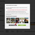 """Watchever zeigt euch an, wann eure Flatrate ausläuft. Bestätigt das mit einem Klick auf """"Weiter zur Kündigung""""."""