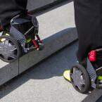 Beide Skates sind gleich schwer.
