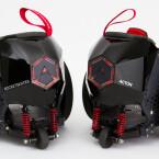 Die Federung ist trügerisch, denn sie dient vornehmlich zum Betätigen der Bremse und nicht dem Komfortgewinn.