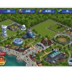 Baut einen Park ganz nach euren Vorstellungen auf. Platziert die Dinosaurier und Gebäude, wie es euch am besten gefällt.