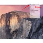 """Auf eurem Mac findet ihr in der Menüleiste das Icon für MacID. Klickt ihr dieses an, wird das Menü geöffnet, in welchem ihr weitere Einstellungen vornehmen könnt. Um zu testen, ob die Verbindung korrekt ist und das Entsperren per Touch-ID funktioniert, wählt ihr zunächst """"Lock Screen"""", um den Bildschirm zu sperren."""