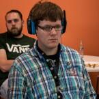 Voll konzentriert für euch am Gamepad...