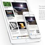 Medienhäusern können ihre eigenen Layouts und Typographien speziell für iOS anpassen.