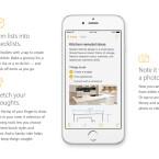Darüber hinaus erhält die Notizen-App Checklisten sowie die Option Fotos zu hinterlegen.