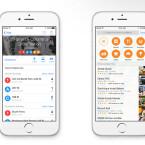 Die Karten-App wird euch künftig Routen mit verschiedenen Fortbewegungsmitteln vorschlagen. Nearby zeigt euch was es in eurer Nähe zu entdecken gibt.