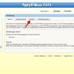 """Klickt anschließend auf """"Sicherung"""" und wechselt im rechten Teil des Browserfensters auf die Registerkarte """"Neustart""""."""