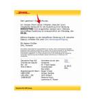 """Die Kriminellen machen Fehler. Bei der Vielzahl der verschiedenen Versionen der Spam-E-Mail ist das kein Wunder. So heißt es: """"wir müssen Ihnen keiner mitteilen, dass der zuvor mitgeteilte Zeitpunkt für die Zustellung Ihrer Sendung 8046237586 nicht eingehalten werden kann.""""."""