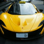 Wer würde nicht gerne in dieses Taxi einsteigen? Der McLaren P1...