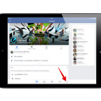 Öffnet die Facebook-App und klickt am unteren Rand auf die drei kleinen Balken, um das Menü zu öffnen.