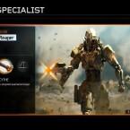 Reaper<br> Waffe: Scythe - Mini Gun-Arm<br> Spezialfähigkeit: Psychosis - beeinflusst die Wahrnehmung des Gegners